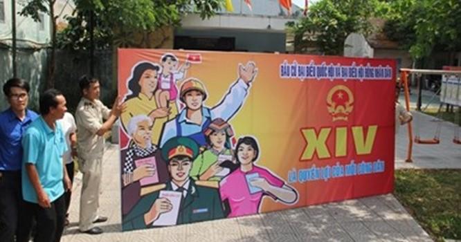 Đà Nẵng nhắn hơn 20.000 tin mời cử tri đi bầu cử