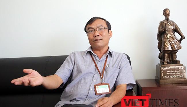 Ông Nguyễn Bá Sơn, Chánh Thanh tra TP Đà Nẵng