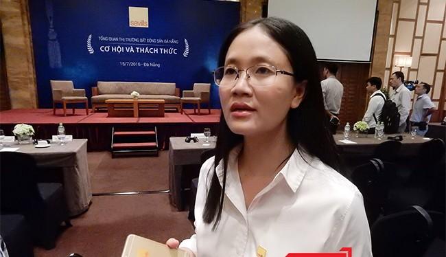 Bà Đỗ Thị Thu Hằng, Phó Giám đốc Bộ phận nghiên cứu Savills Việt Nam