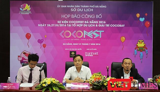 """Cocofest Đà Nẵng 2016 với chủ đề """"Sắc màu nhiệt đới"""" là sự kiện văn hóa giải trí đẳng cấp quốc tế sẽ diễn ra tại Đà Nẵng từ ngày 26-27/8/2016."""