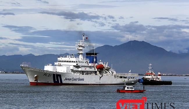 Từ ngày 25/7-29/7, tàu Kojima cùng 71 thủy thủ và thực tập viên thuộc Lực lượng bảo vệ bờ biển Nhật Bản sẽ đến thăm Đà Nẵng