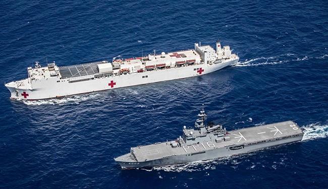 Sáng 28/7, đội tàu Hải quân Nhật Bản và Hoa Kỳ đã rời Đà Nẵng, chính thức khép lại chương trình Đối tác Thái Bình Dương 2016 (PP16) sau 14 ngày hoạt động với nhiều sự kiện quan trọng