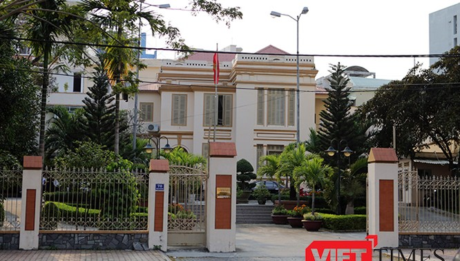 Trụ sở của Ủy ban MTTQ TP.Đà Nẵng tại địa chỉ 70 Bạch Đằng đã hơn 100 năm tuổi