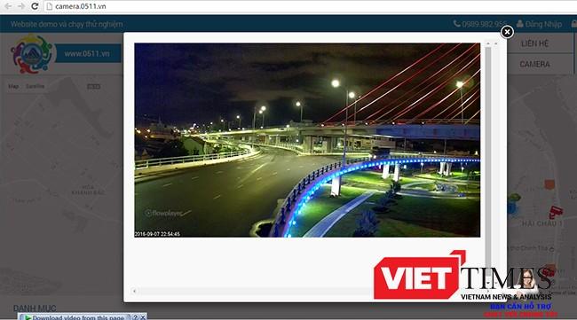 hông qua website có địa chỉ http://camera.0511.vn, người dân cùng chính quyền có thể theo dõi tình hình giao thông trực tiếp tại các điểm nút giao thông quan trọng của Đà Nẵng.