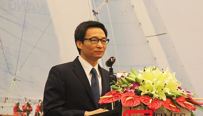 Phó thủ tướng Chính phủ Việt Nam Vũ Đức Đam phát biểu tại sự kiện