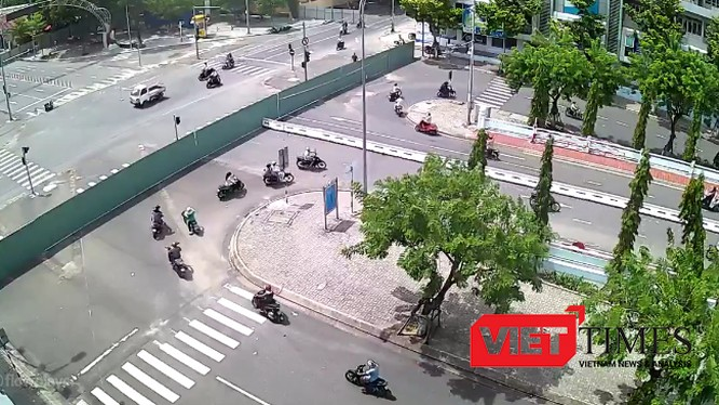 Đà Nẵng sẽ cấm đậu đỗ nhiều tuyến đường tại khu vực trung tâm TP để thi công hầm chui nút giao thông phía tây caayuf Sông Hàn