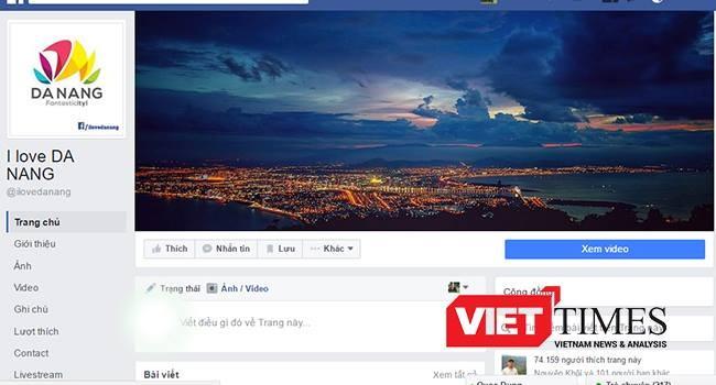 Fanpage I love Da Nang do Giang Kiên Huy lập có nội dung xúc phạm lãnh đạo TP