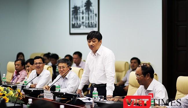 Ông Đặng Việt Dũng, Phó Chủ tịch UBND TP Đà Nẵng phát biểu tại buổi làm việc