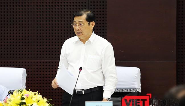 """Chủ tịch UBND TP Đà Nẵng Huỳnh Đức Thơ vừa ra Tuyên bố phản đối hành vi ngang ngược của Trung Quốc khi tiến hành bầu cử đại biểu Đại hội đại biểu Nhân dân khóa II của cái gọi là """"TP Tam Sa""""."""