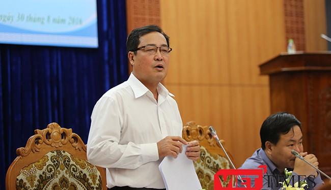 Quảng Nam phúc đáp Đà Nẵng về Dự án nhà máy thép Việt Pháp