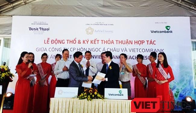 Việc khởi công xây dựng khu nghỉ dưỡng 5 sao Anvie Danang Beach resor góp phần nâng số lượng khu khách sạn, nghỉ dưỡng loại 5 sao ở Đà Nẵng lên trên 30 khu