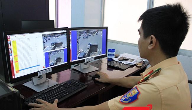 Lực lượng CSGT sẽ túc trực 24/24 trên hệ thống camera để xuất thông tin phương tiện vi phạm