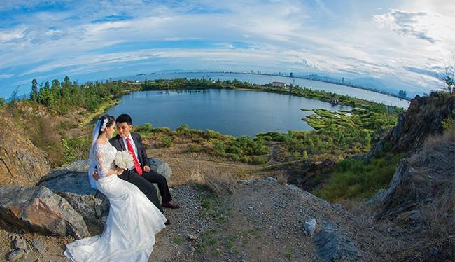 Hồ Xanh trên bán đảo Sơn Trà, một trong những điểm nhấn du lịch định hướng phát triển trong tương lai