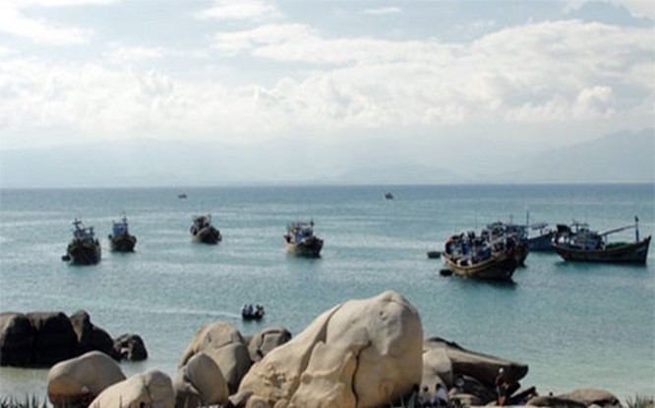 Một góc Khu bảo tồn biển Hòn Cau (huyện Tuy Phong, Bình Thuận)