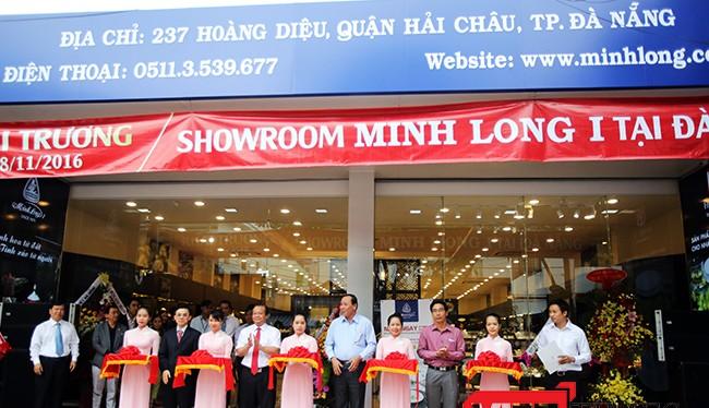 Sáng 28/11, showroom gốm sứ Minh Long I chính thức ra mắt tại địa chỉ 237 Hoàng Diệu, TP Đà Nẵng để đáp ứng nhu cầu của khách hàng.