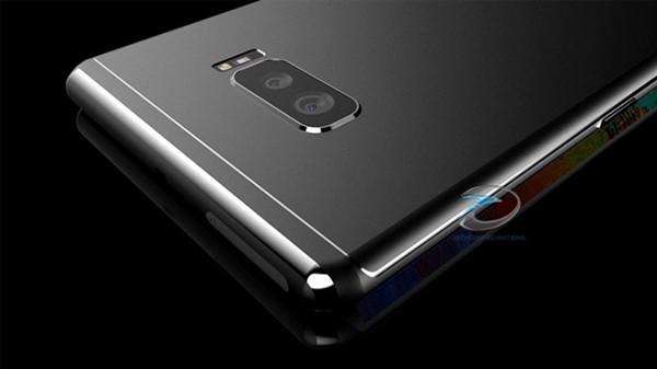 Một mẫu thiết kế về cụm camera kép của máy Galaxy S8 từng được chia sẻ ẢNH CHỤP MÀN HÌNH