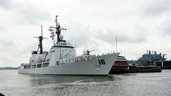 Chiến hạm PF-16 BRP Ramon Alcaraz của Hải quân Philippines