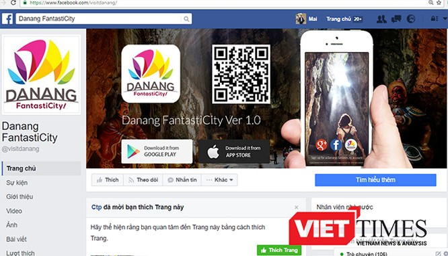 Sở Du lịch Đà Nẵng chính thức đưa ứng dụng Danang FantastiCity lên kho ứng dụng dành cho thiết bị di động nhằm đáp ứng nhu cầu của du khách