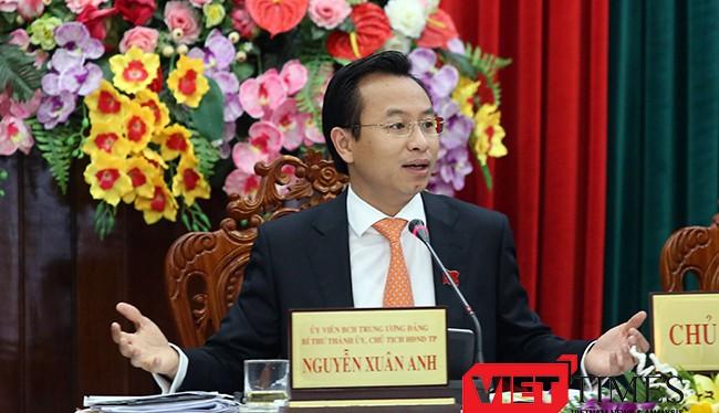 Ông Nguyễn Xuân Anh, Bí thư Thành ủy, Chủ tịch HĐND TP.Đà Nẵng