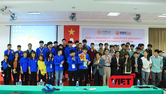 Tuần lễ giao lưu sinh viên Việt-Hàn tại Đà Nẵng giữa sinh viên Đại học Đông Á và Đại học Kỹ thuật giáo dục Hàn Quốc Koreatech sẽ diễn ra từ ngày 27/12/2016-04/01/2017 tại Đại học Đông Á.