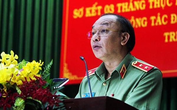 Trung tướng Lê Đông Phong, Giám đốc Công an TP.HCM (ảnh Pháp luật TPHCM)
