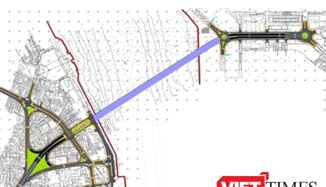 Phương án hầm thẳng được Ban Thường vụ Thành ủy Đà Nẵng quyết xây dựng vào năm 2018