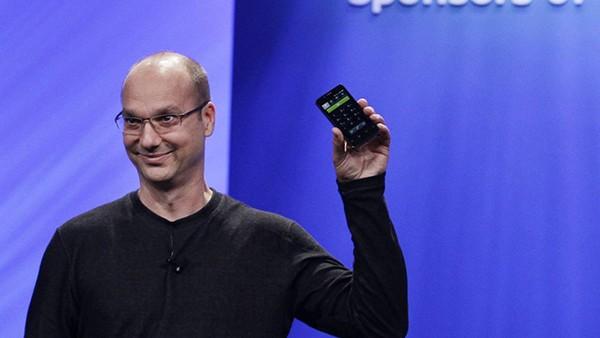 Cha đẻ của hệ điều hành Android-Andy Rubin sẽ cho ra đời chiếc smartphone không viền màn hình, đủ sức để cạnh tranh với Google Pixel và iPhone (ảnh AFP)
