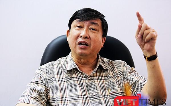 ông Bùi Văn Tiếng, Chủ tịch Hội Khoa học Lịch sử Đà Nẵng, nguyên Trưởng Ban Tổ chức Thành ủy Đà Nẵng