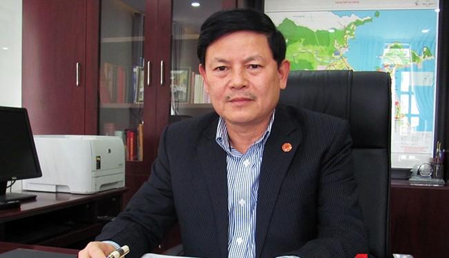 Ông Trần Đình Hồng, Trưởng ban Tổ chức Thành ủy Đà Nẵng