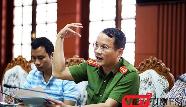 Trung tá Hồ Song Ân, Trưởng phòng Cảnh sát môi trường (PC49), Công an tỉnh Quảng Nam cho biết sẽ tiếp tục điều tra và xử lý nghiêm hành vu bán cát trái phép ra Đà Nẵng