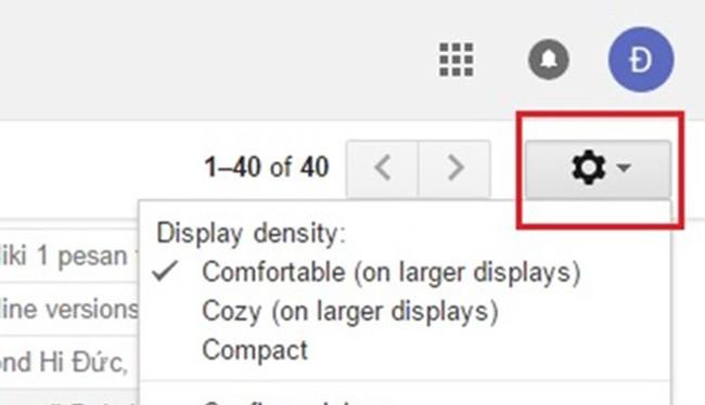 Tại trang Settings, bạn chọn thẻ Labs, sau đó tìm và đánh dấu chọn Enable của mục Preview Pane.