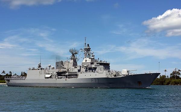 Tàu khu trục HMZNS Te Kaha (F77) là một trong những tàu khu trục lớp Anzac đầy uy lực của Hải quân New Zealand sẽ đến Đà Nẵng