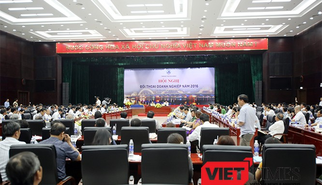 UBND TP Đà Nẵng vừa thông qua Kế hoạch tổ chức Hội nghị Đối thoại doanh nghiệp năm 2017 sẽ diễn ra vào ngày 20/4 tới tại Trung tâm Hành chính TP.