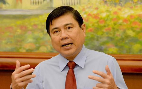 Chủ tịch UBND TP.HCM Nguyễn Thành Phong (ảnh Thanh Niên)