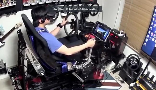 Dàn máy chơi game mô phỏng có giá gần 25.000 USD