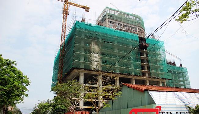 Công trình Tổ hợp khách sạn và căn hộ Central Coast bị xử phạt 1 tỷ đồng do xây dựng trái phép
