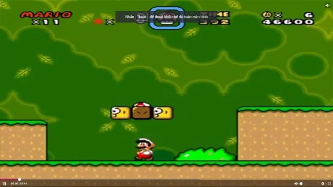Super Mario World được nhiều người xem là game platformer (chạy bất tận) đồ họa 2D tốt nhất của mọi thời đại