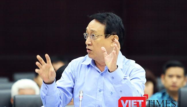 Ông Huỳnh Tấn Vinh, Chủ tịch Hiệp hội Du lịch Đà Nẵng, người gửi Tâm thư liên quan đến quy hoạch Du lịch bán đảo Sơn Trà lên Thủ tướng