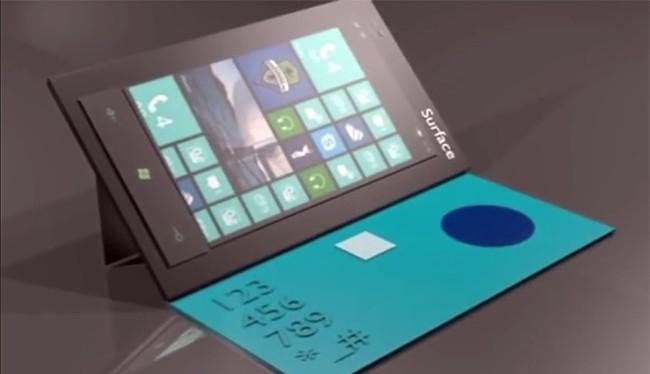 Một số ý tưởng điện thoại Surface Phone