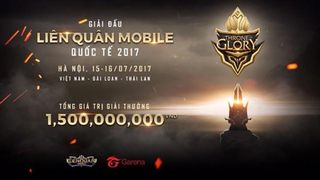 Giải đấu quốc tế Liên Quân - Garena Throne Of Glory 2017