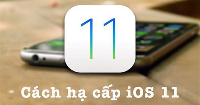 Nếu cảm thấy iOS 11 Beta không phù hợp hoặc gặp quá nhiều lỗi, bạn có thể hạ cấp về iOS 10.3.3 hoặc 10.3.2 mà không lo bị mất dữ liệu.