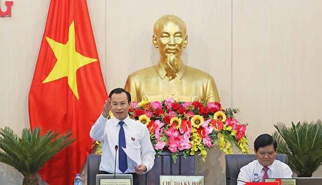 Bí thư Thành ủy, Chủ tịch HĐND TP Đà Nẵng Nguyễn Xuân Anh chủ trì Kỳ họp