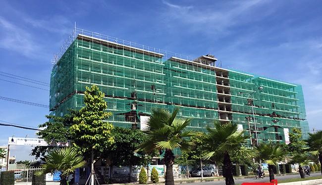 Dự án chung cư An Trung 2 (phường An Hải Đông, quận Sơn Trà, TP Đà Nẵng) do Liên danh DMC-579 (công ty CP đầu tư Đức Mạnh-Công ty CP đầu tư 579) xây dựng