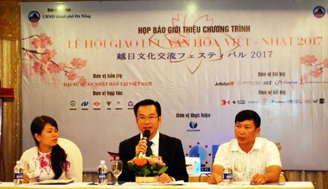 Ngày 24/7, Sở Ngoại vụ TP Đà Nẵng và Công ty TNHH Đào tạo và Đầu tư GreenHope tổ chức buổi họp báo giới thiệu chương trình Lễ hội giao lưu văn hóa Việt - Nhật lần thứ 4 năm 2017