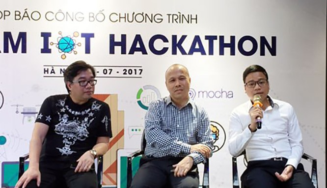 """Viettel tổ chức cuộc thi """"Vietnam IoT Hackathon 2017"""" trên quy mô toàn quốc với các giải thưởng có tổng trị giá gần 600 triệu đồng để hỗ trợ các startup, tiếp sức cho những tài năng của giới tri thức trẻ Việt Nam."""