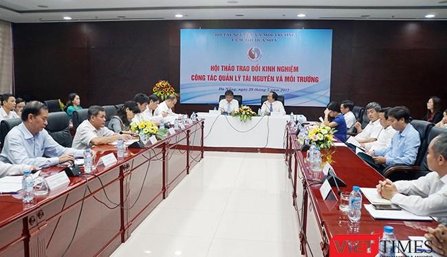 Sáng 29/7, tại Đà Nẵng, Bộ TNMT phối hợp cùng UBND TP.Đà Nẵng và các tỉnh, thành Duyên hải Nam Trung bộ tổ chức Hội thảo trao đổi kinh nghiệm công tác quản lý tài nguyên và môi trường.