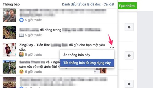 Nếu cảm thấy phiền phức vì những lời mời chơi game từ bạn bè hoặc thông báo từ các group (nhóm) bán hàng trên Facebook, bạn có thể áp dụng mẹo nhỏ sau đây để khắc phục.