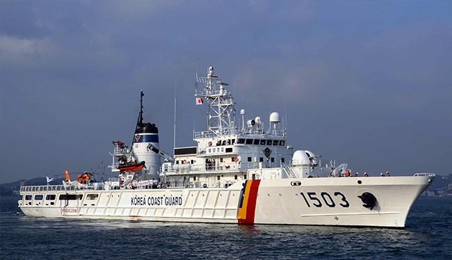 Tàu Badaro thuộc lực lượng Bảo vệ bờ biển Hàn Quốc sẽ đến Đà Nẵng vào ngày 4/9 và lưu lại 4 ngày (ảnh: Sở Ngoại vụ Đà Nẵng cung cấp)