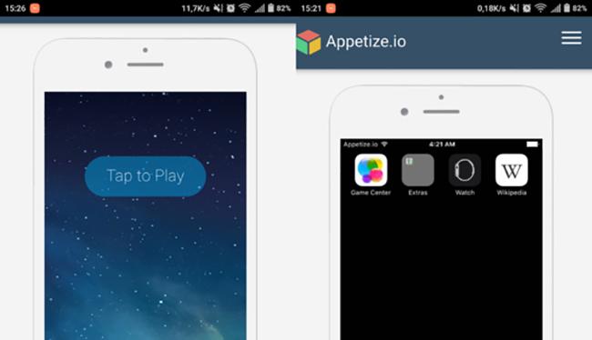 Appetize, Cider và iEMU là 3 trình giả lập cho phép người dùng có thể mở các ứng dụng iOS trên smartphone Android chỉ với vài thao tác đơn giản.
