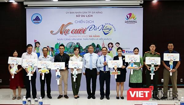 """Chiều 19/9, UBND TP Đà Nẵng đã tổ chức họp báo phát động chiến dịch """"Nụ cười Đà Nẵng"""" để chào đón Tuần lễ cấp cao APEC sẽ diễn ra vào tháng 11 tới."""